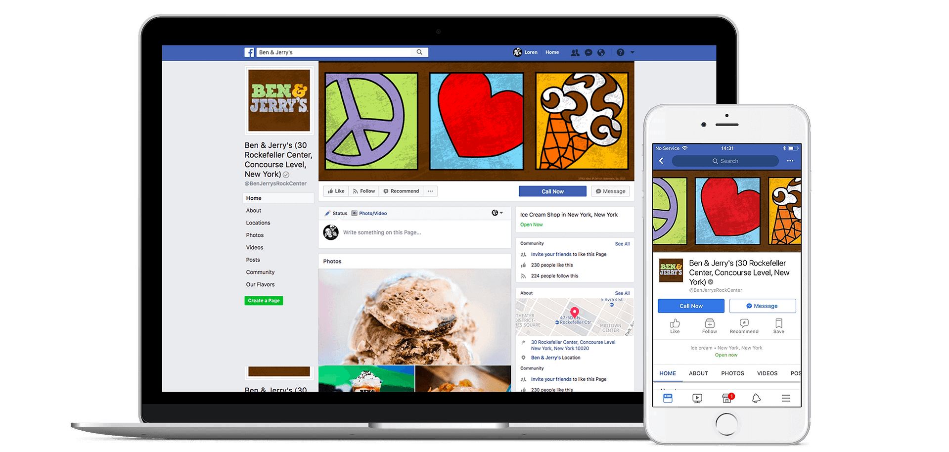 Add your Business and Events to Facebook