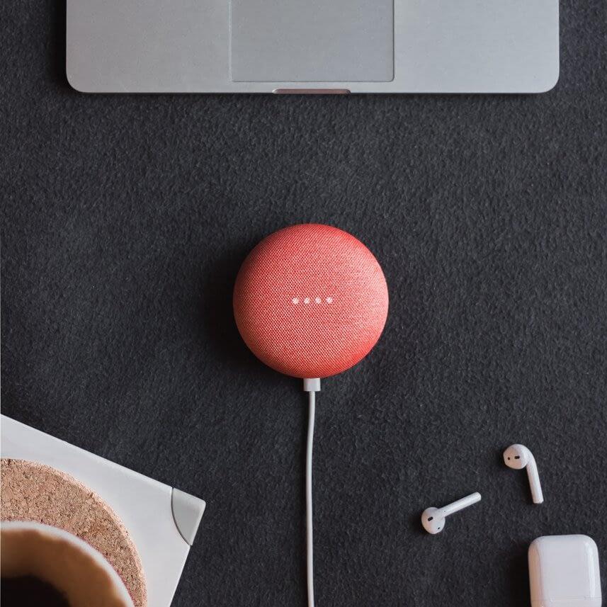 Google Nest Home mini speaker