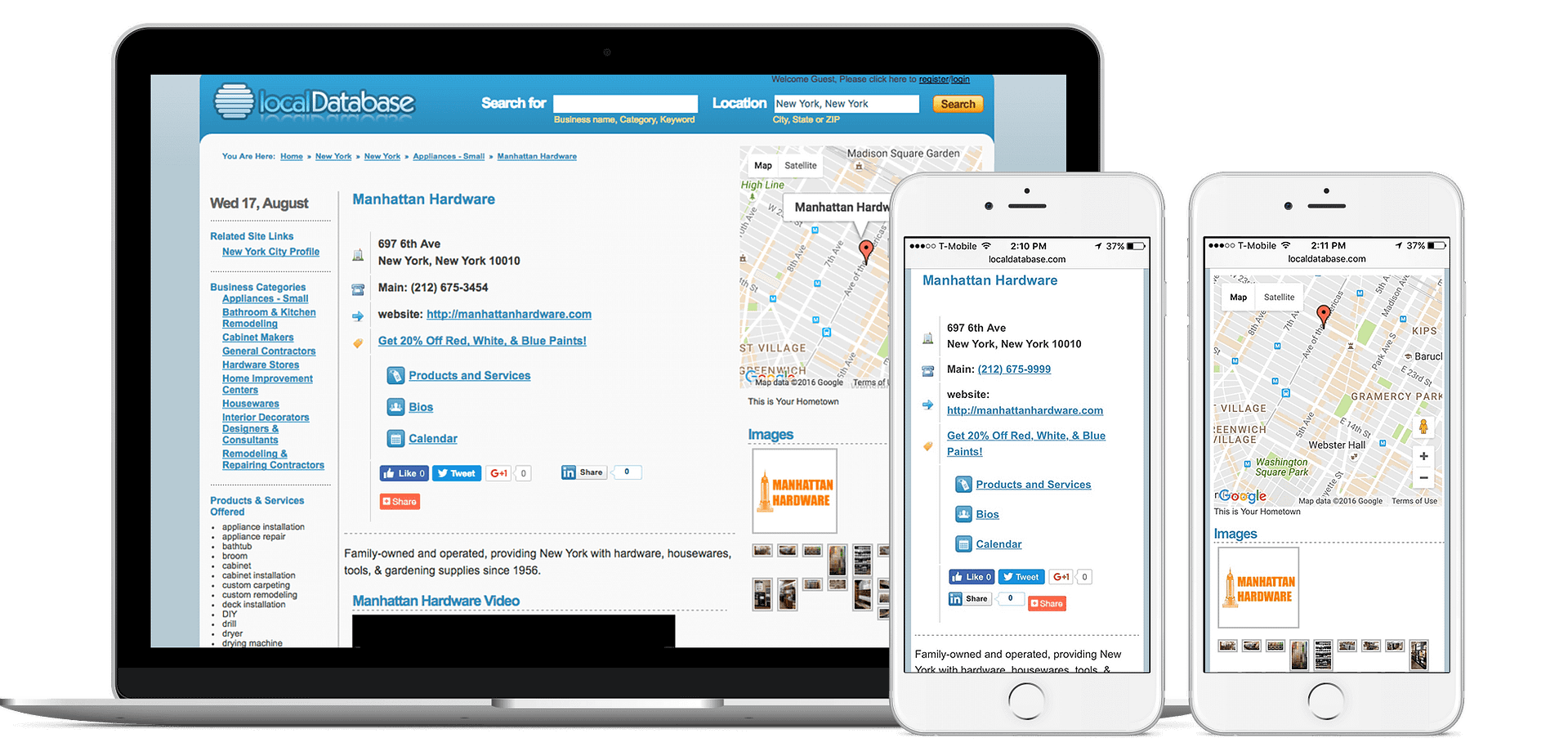 Add Your Business to Local Database