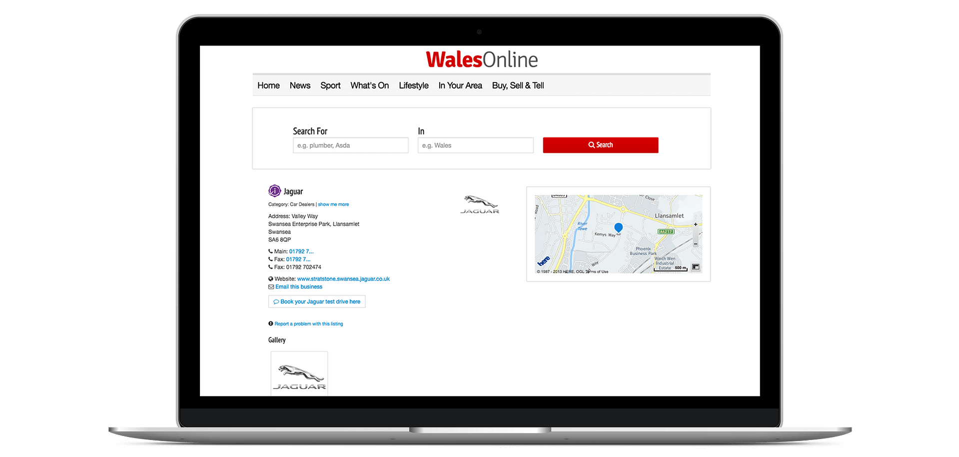Add Your Business to WalesOnline