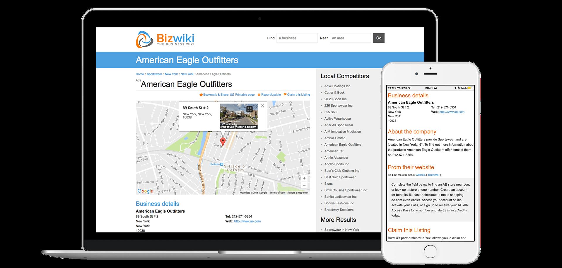Add Your Business to Bizwiki