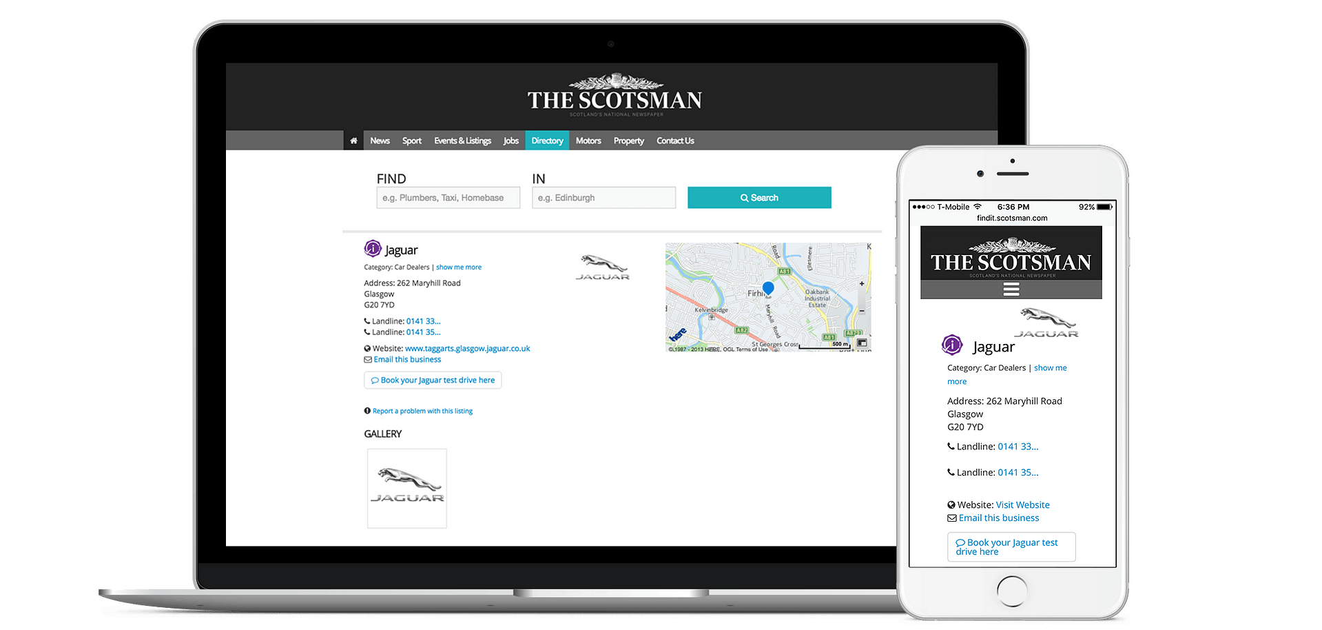 Add Your Business to The Scotsman