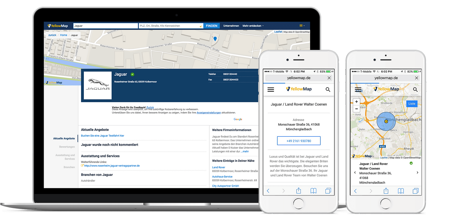 Add Your Business to YellowMap